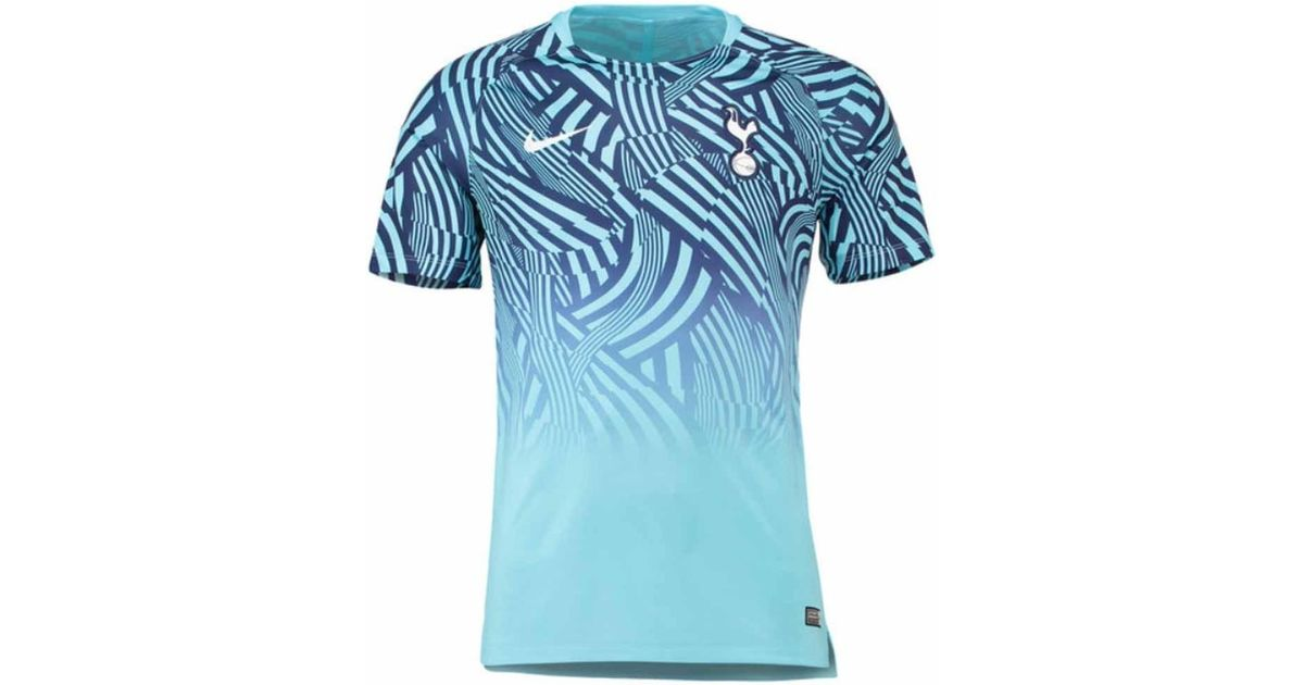 cb0f58939 Nike 2018-2019 Tottenham Pre-match Training Shirt Men s T Shirt In Blue in  Blue for Men - Lyst