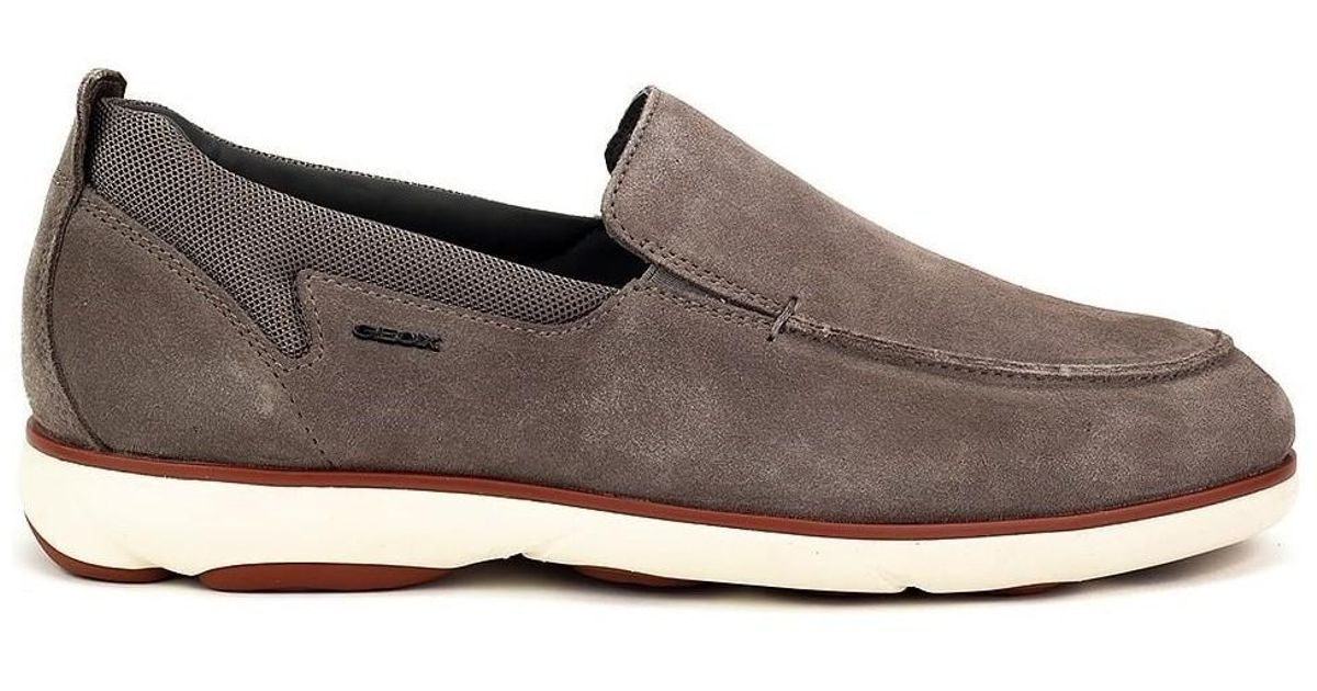 5d4dd4cc5ffff Geox Nebula Men's Loafers / Casual Shoes In Grey in Gray for Men - Lyst