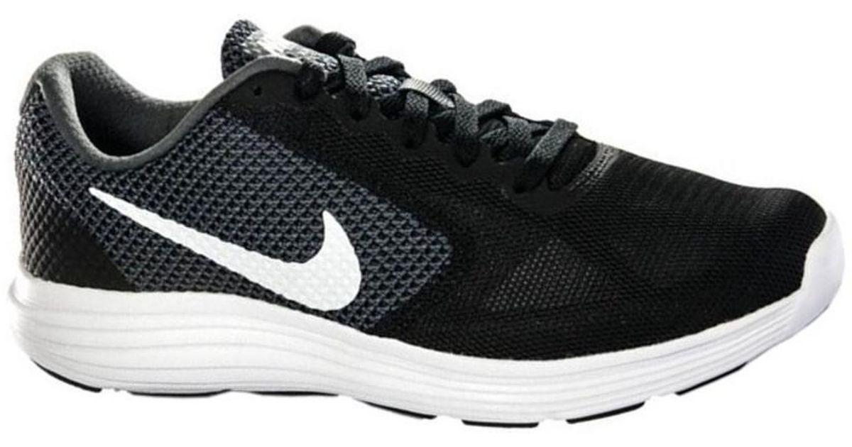 6265d004803e Nike Revolution 3 W 819302 001 Women s Shoes (trainers) In Black in Black -  Lyst