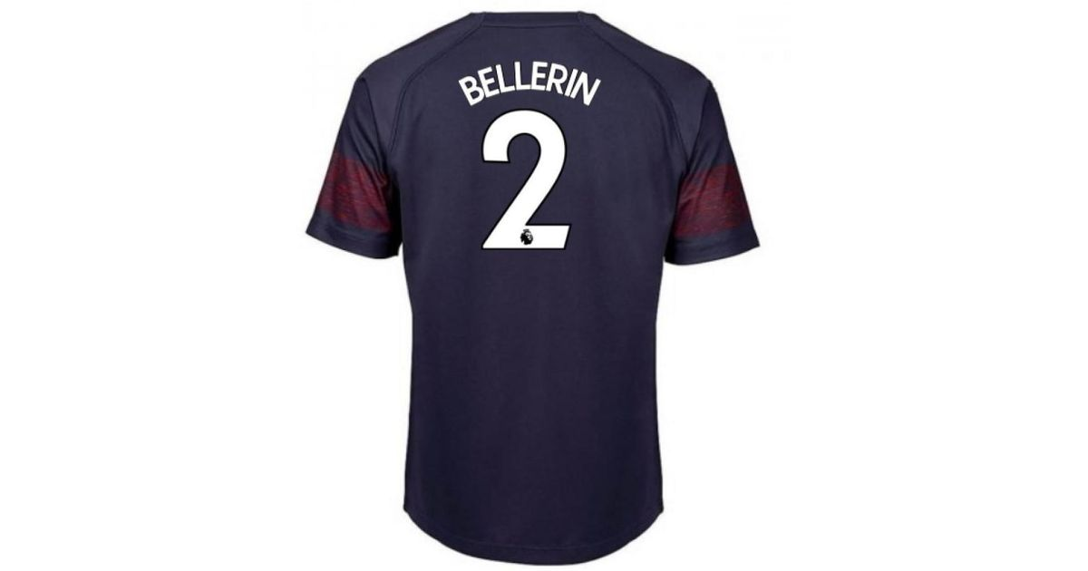 71a35a31b PUMA 2018-2019 Arsenal Away Football Shirt (bellerin 2) Men s T Shirt In  Blue in Blue for Men - Lyst