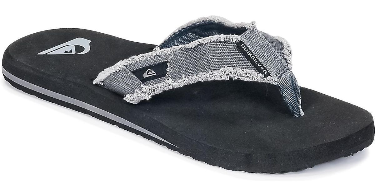 1ca9b8c76fc468 Quiksilver Monkey Abyss M Sndl Xskc Men s Flip Flops   Sandals (shoes) In  Grey in Gray for Men - Save 10% - Lyst