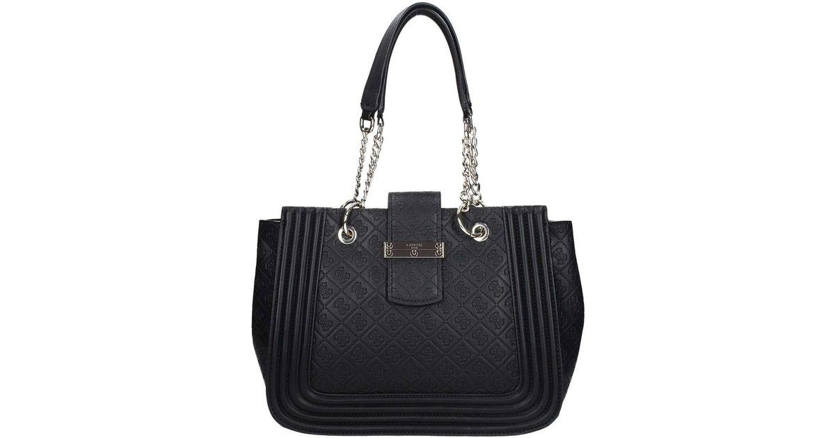 d72eb8e5cd5a Guess Hwsg67 87230 Shopping Bag Women s Shopper Bag In Black in Black - Lyst