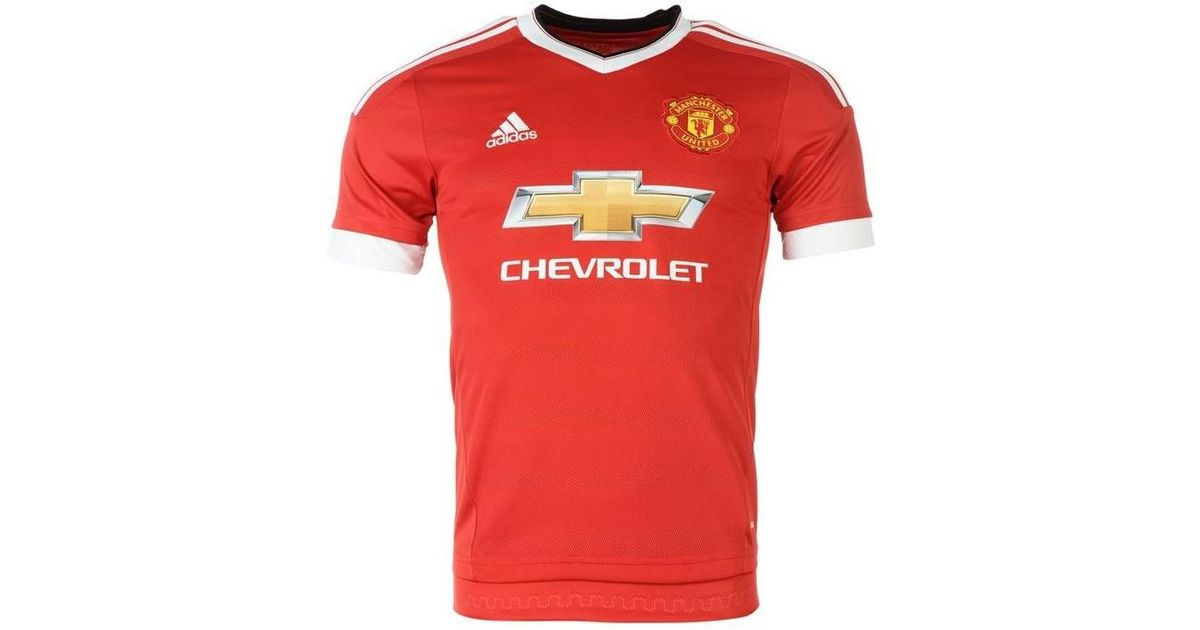 9f69ea1ef Adidas 2015-16 Man United Home Shirt (martial 9) - Kids Men s T Shirt In  Red in Red for Men - Lyst