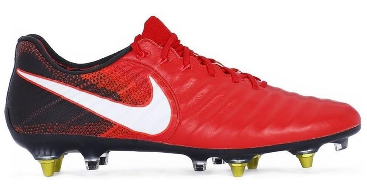 5dc6d8a2dc95ff Nike Tiempo Legend Vii Sg Pro Ac Men s Football Boots In Red in Red for Men  - Lyst