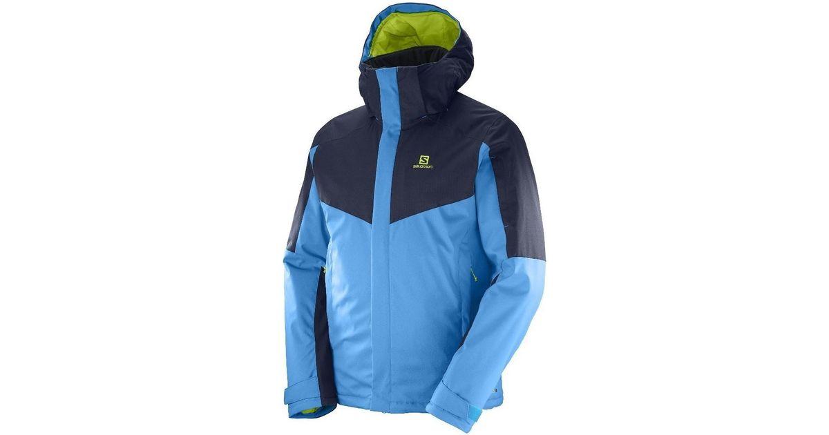 eaeb1b53ce74 Yves Salomon Stormseeker Jkt M Men s Jacket In Multicolour in Blue for Men  - Lyst