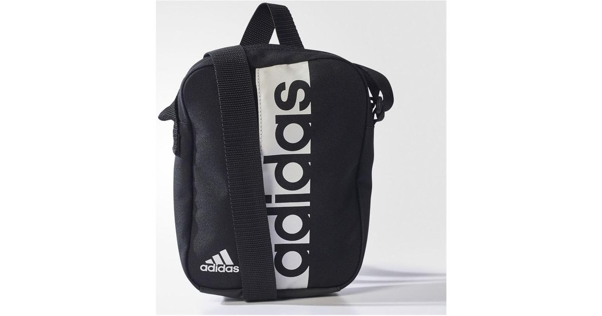 adidas Linear Performance Women s Shoulder Bag In Black in Black for Men -  Lyst d4668e73e34bd