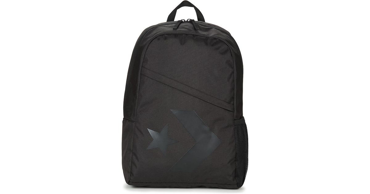 a398df1bf04 Converse Speed Backpack Star Chevron Women s Backpack In Black in Black -  Lyst