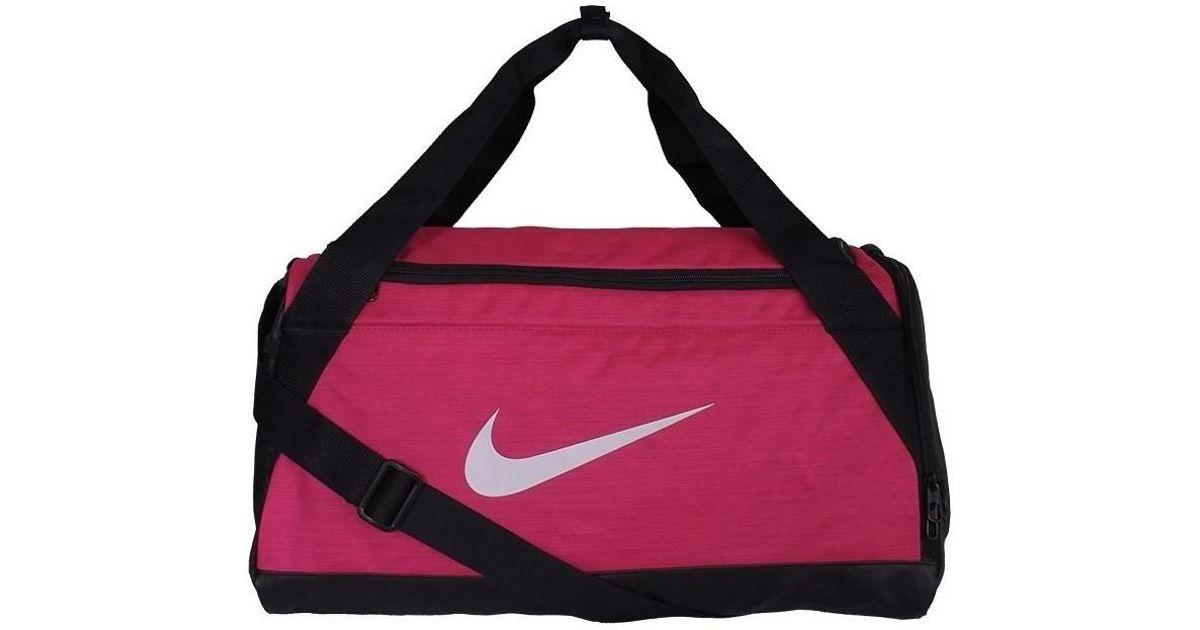 2efd963795 Nike Brasilia 6 Duffel Grip S Men s Sports Bag In Black in Black for Men -  Lyst
