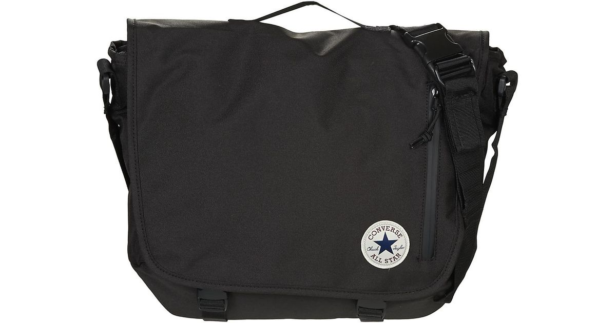 Converse Core Poly Messenger Women's Messenger Bag In Black in Black - Lyst