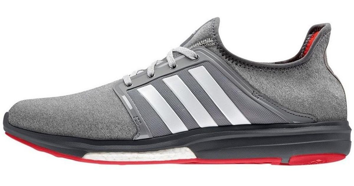 adidas Men's CC Sonic Boost Running Shoes BlueWhiteBlack