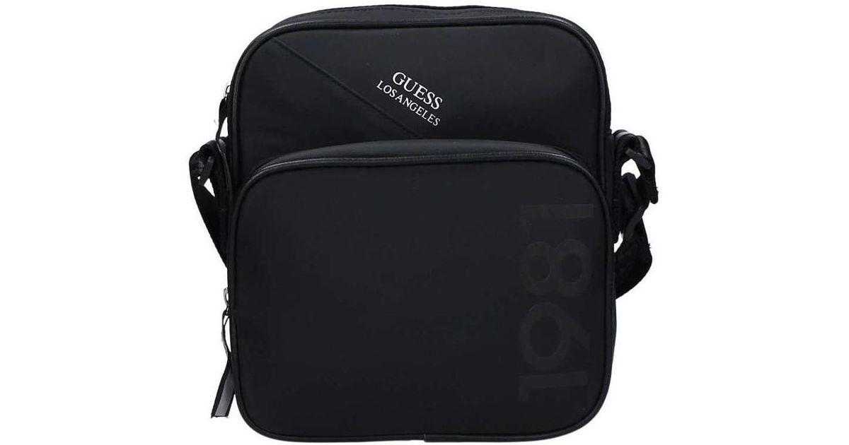 968a815e4e Guess Hm6114 Nyl73 Shoulder Bag Men s Shoulder Bag In Black in Black for Men  - Lyst