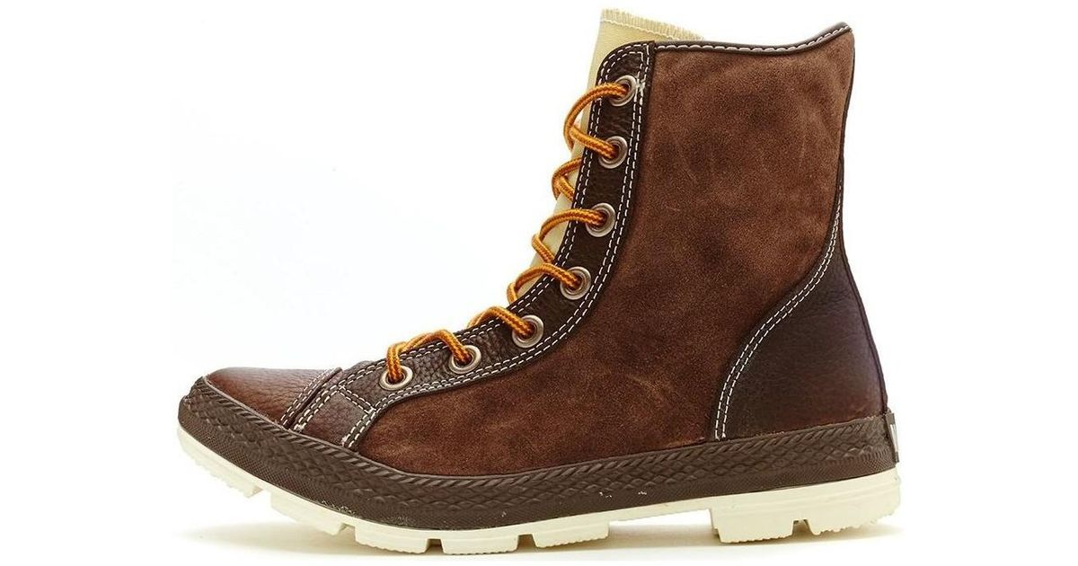 3a467635dbba Converse Chuck Taylor Outsider Hi Leather Boots Chocolate Brown 125664c  Men s Mid Boots In Brown in Brown for Men - Lyst