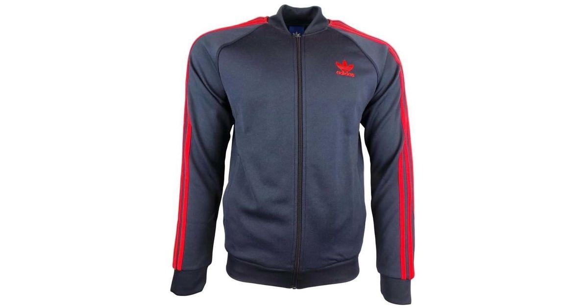 0a9fdd5ba4e9 adidas Sst Tt Men s Tracksuit Jacket In Blue in Blue for Men - Lyst