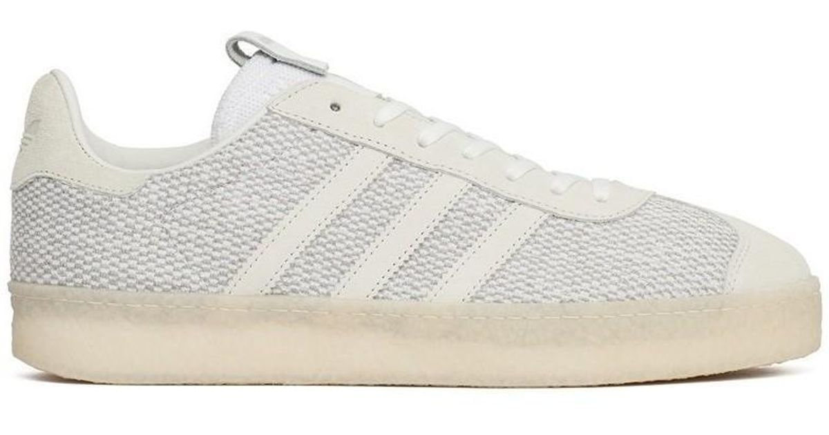quality design 8483c 58a84 adidas Consortium X Juice Gazelle Primeknit Mens Shoes (trainers) In White  in White for Men - Lyst