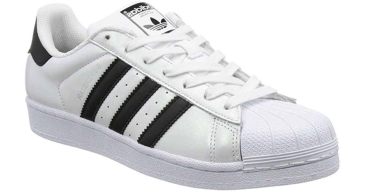 bf2408fdc9 adidas Superstar Foundation Women's Trainers In White in White - Lyst