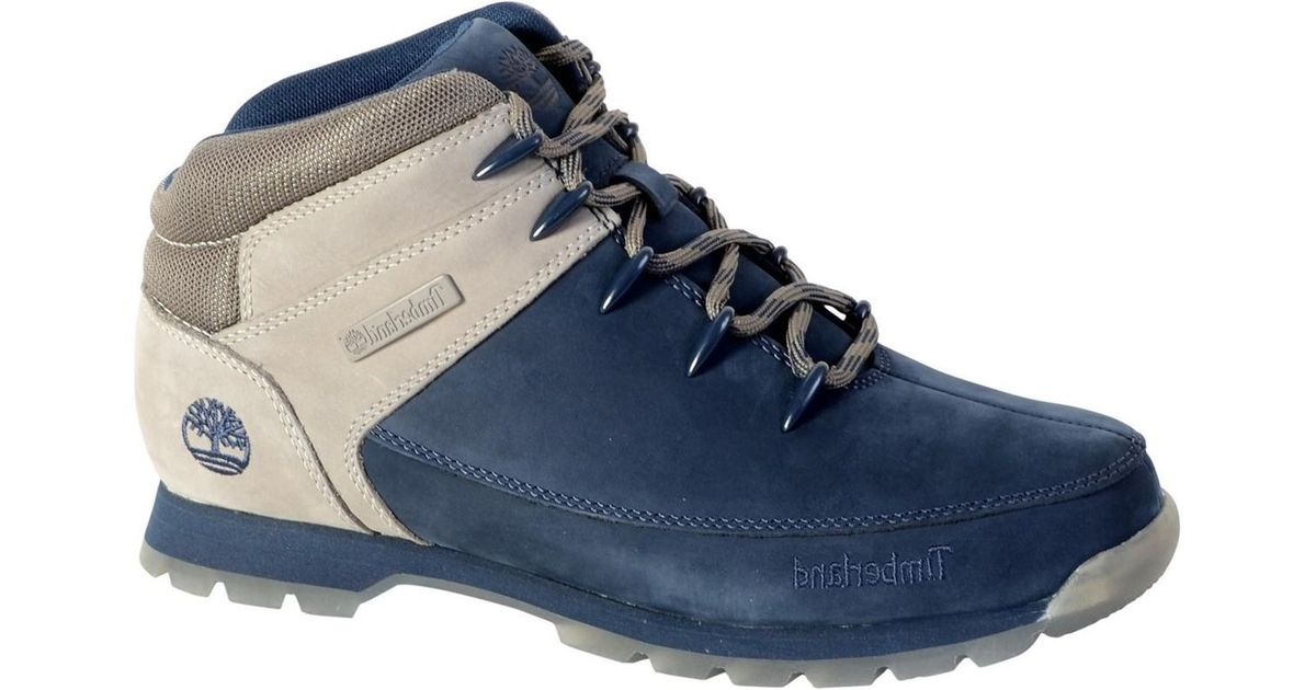 33c93d0913d Timberland - Shoes A1kay Euro Sprint Hiker Black Iris Men's Shoes (high-top  Trainers) In Blue for Men - Lyst