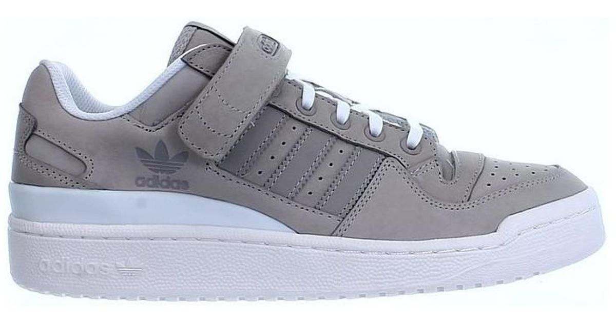 cheap for discount c9a22 f632b Adidas Forum Lo Mens Shoes (trainers) In Beige in Natural for Men - Lyst