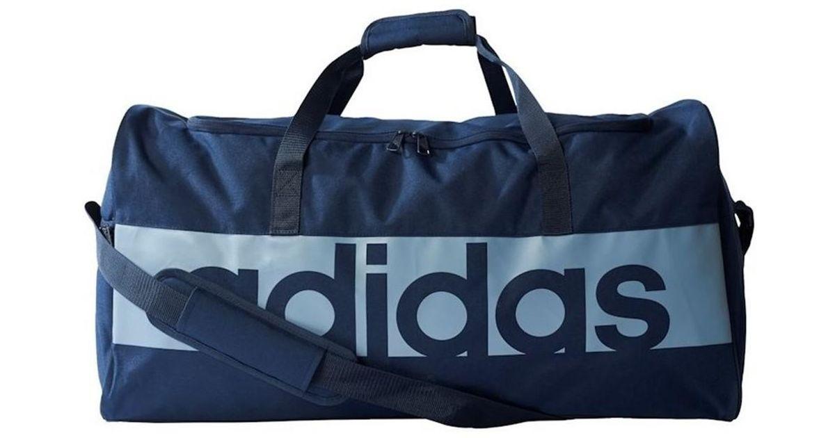 8e934be265 Adidas Lin Per Tb L Men s Sports Bag In Multicolour in Blue for Men - Lyst