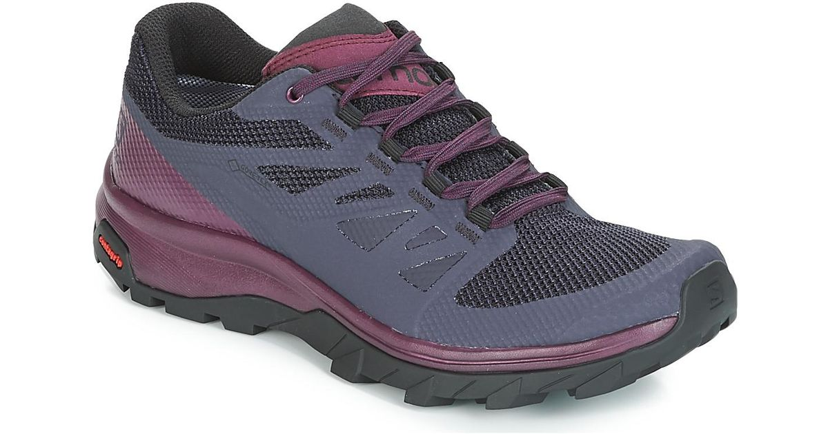 Yves Salomon Outline Gtx® W Women s Walking Boots In Purple in Purple - Lyst e4d6d15dc25