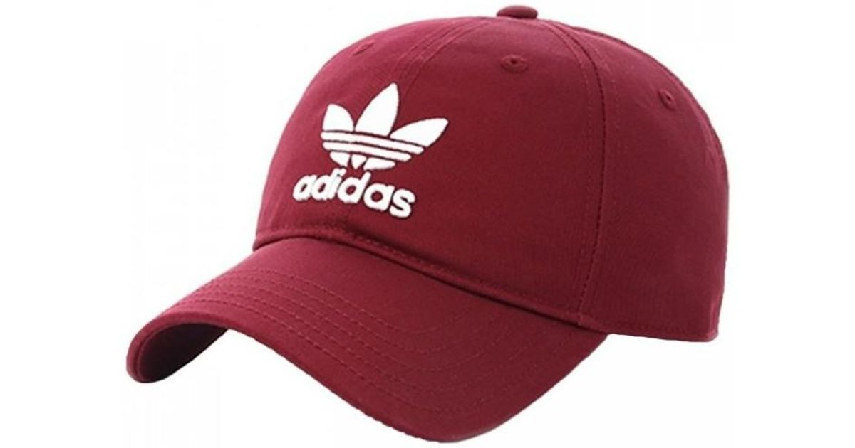 811f207db06f6 adidas Trefoil Trefoil Cd8804 Men s Cap In Other in Red for Men - Lyst