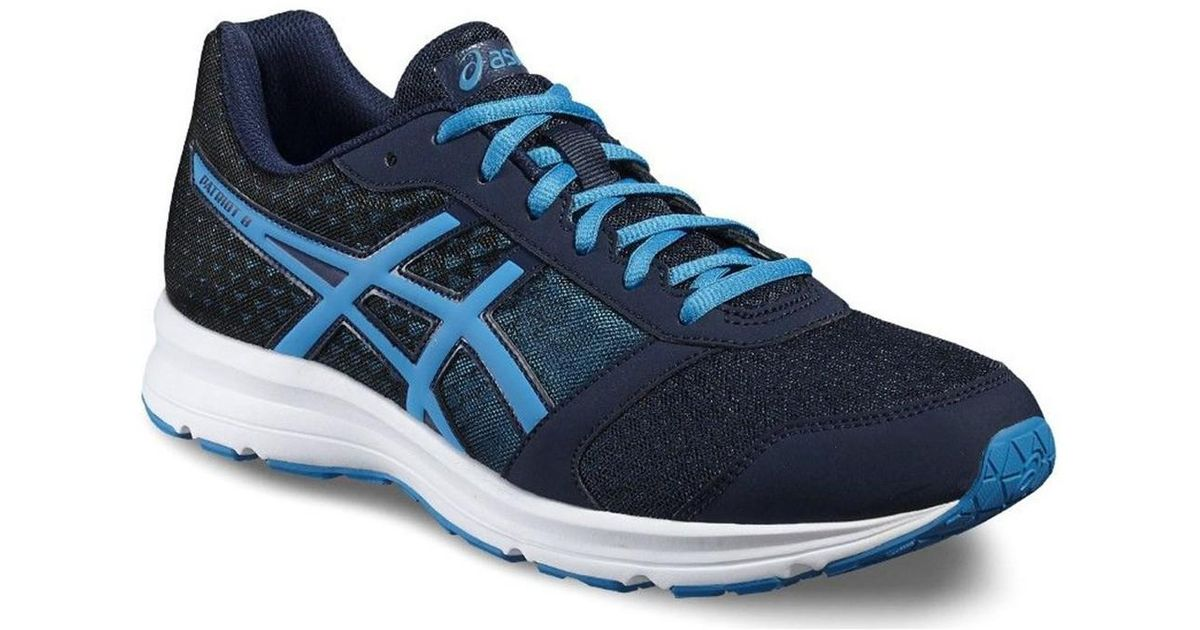 1b86ae658536 Asics Patriot 8 Men s Running Trainers In Multicolour in Blue for Men - Lyst