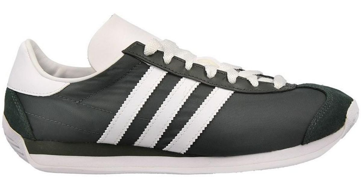 e315c8106b7d62 Adidas Country Og W Women s Shoes In White in White - Lyst