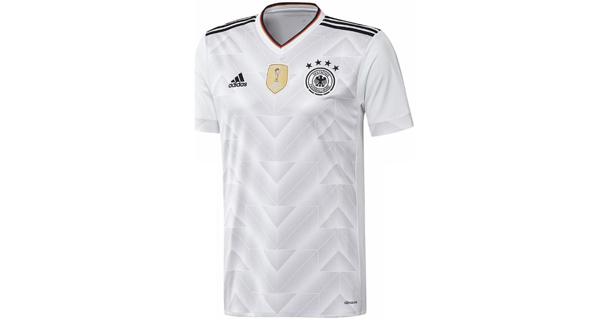 344bd2fa497d adidas 2017-2018 Germany Home Football Shirt (kids) Men s T Shirt In White  in White for Men - Lyst