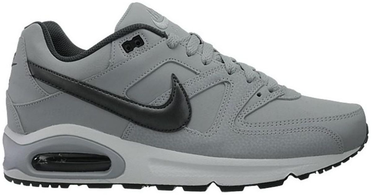 brand new ee2d8 c947b Nike Air Max Command Leather Men s Shoes (trainers) In Grey in Gray for Men  - Lyst