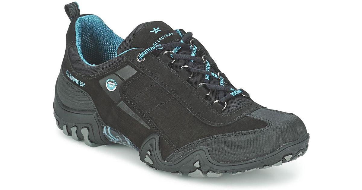 9ac9fcf808 Allrounder By Mephisto Fina Tek Women's Walking Boots In Grey in Gray - Lyst