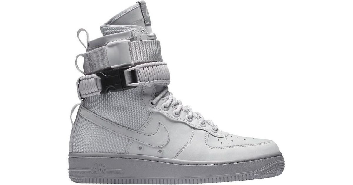 4eb31293db91 Nike Wmns Special Field Air Force 1 Women s Shoes (high-top Trainers) In  Grey in Gray - Lyst