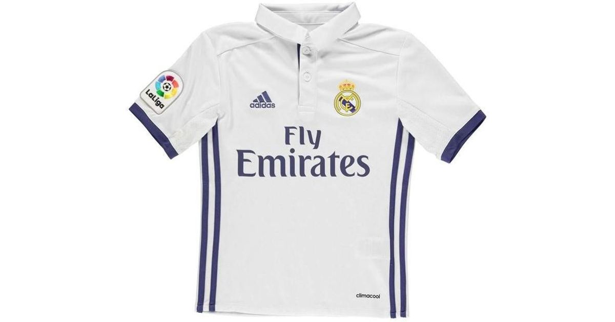 01ab2d862 adidas 2016-17 Real Madrid Home Shirt (isco 22) - Kids Men's T Shirt In  Other for Men - Lyst