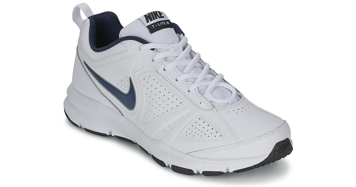 more photos ae104 fefad Nike T-lite Xi Men s Sports Trainers (shoes) In White in White for Men -  Lyst