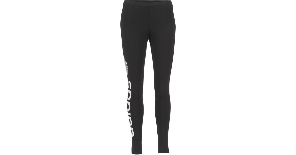 1203e9fb47962a adidas Linear Leggings Women's Tights In Black in Black - Lyst