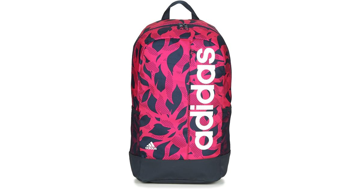 1b29978a1936 adidas Linear Bp W Gr Men s Backpack In Pink in Pink for Men - Lyst