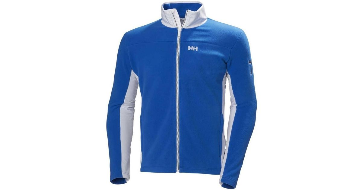 Helly Hansen Coastal Fleece Jacket Men s Sweater In Blue in Blue for Men -  Lyst 743cff15300