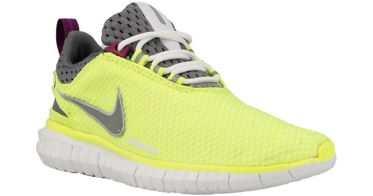 b193ad512d8a Nike - Free Og 14 Br Women s Running Trainers In Yellow - Lyst