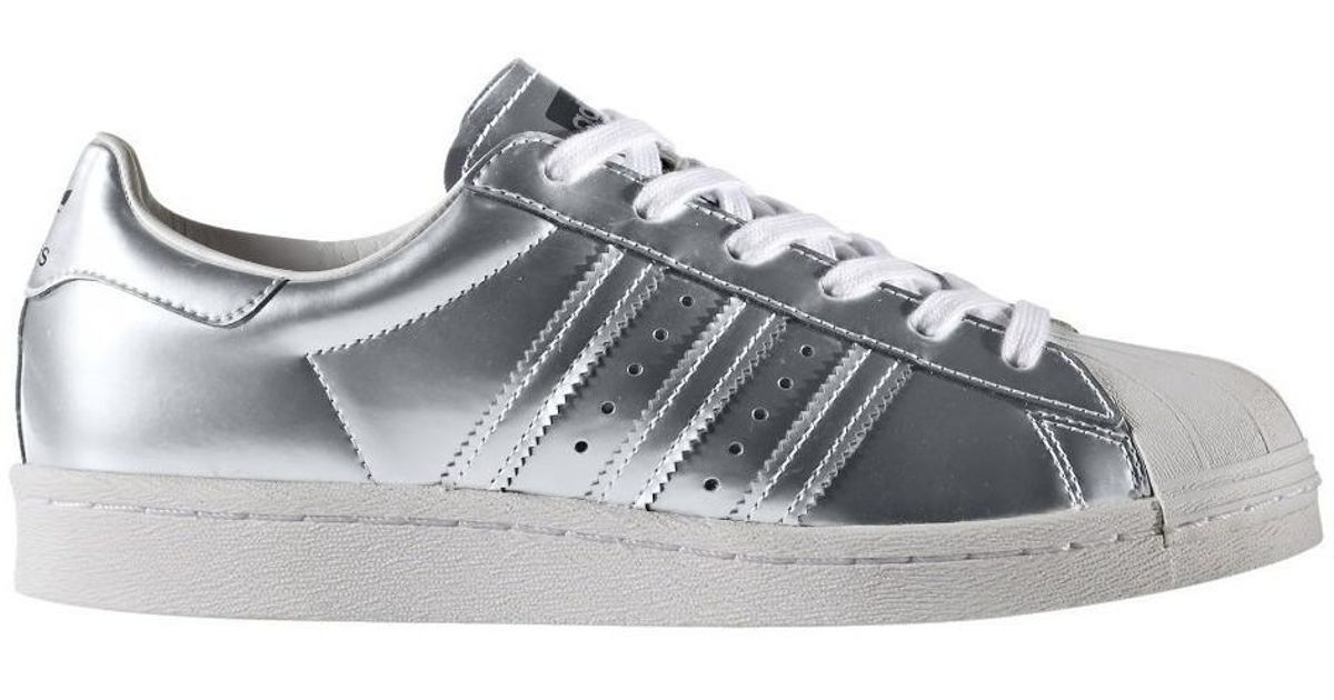 adidas Originals Womens Superstar Boost Trainers Silver MetallicSilver MetallicFootwear White
