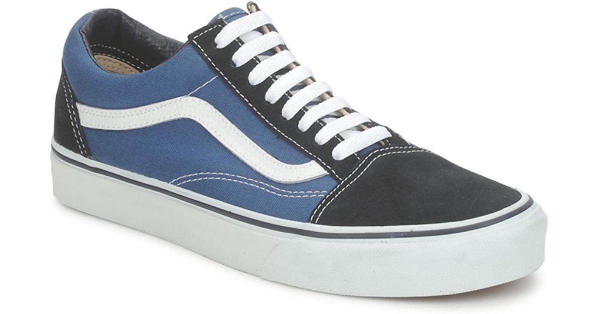 7bd1c5ff07 Vans Old Skool Men s Shoes (trainers) In Blue in Blue for Men - Lyst