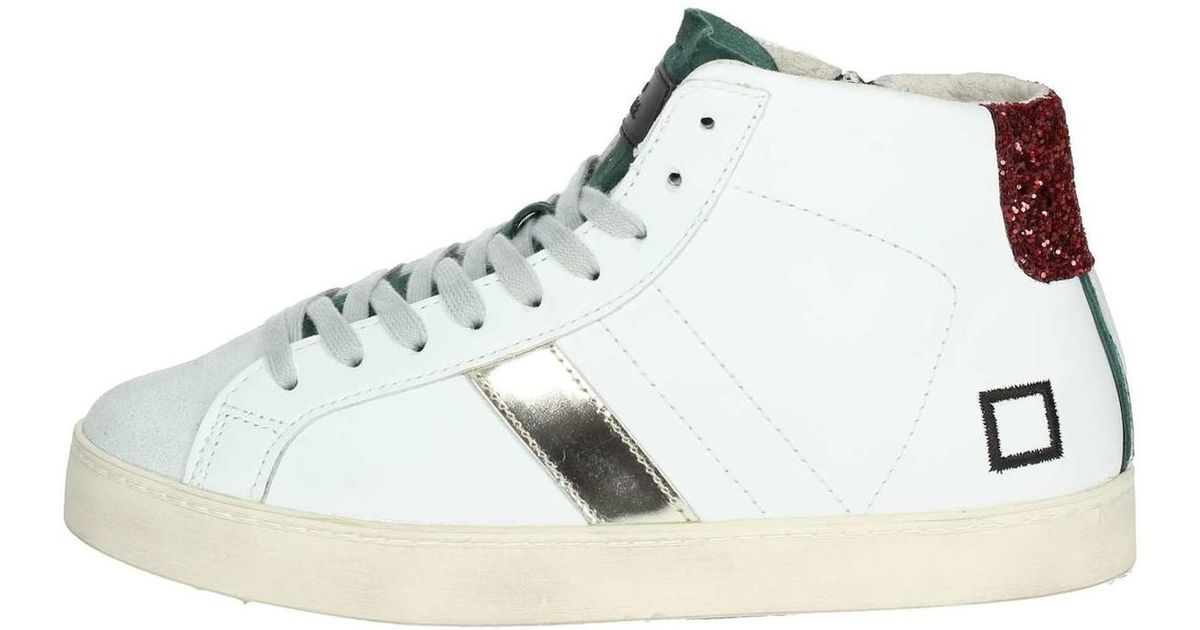 official photos 03f27 8cf4b Date - D.a.t.e. Hill High-31i High Sneakers Women White Women's Shoes  (high-top Trainers) In White - Lyst