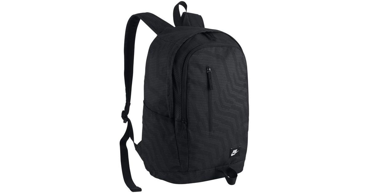 Nike All Access Soleday Men s Backpack In Black in Black for Men - Lyst f36845d445e20