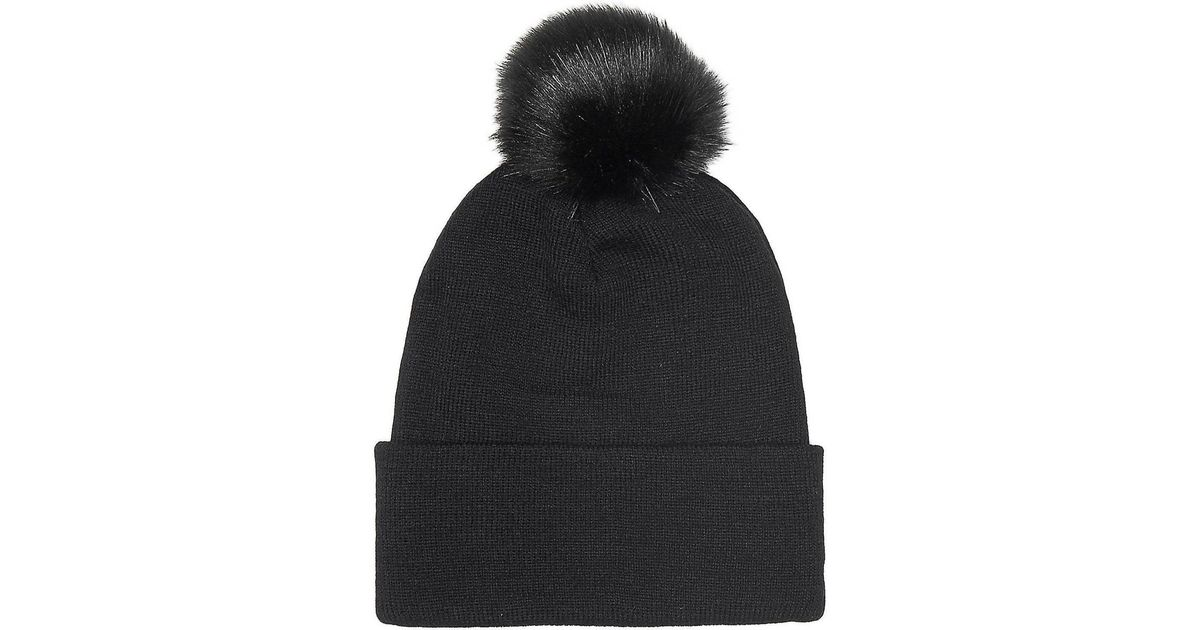 Guess Aw6452 Wol01 Hat Accessories Black Men s Beanie In Black in Black for  Men - Lyst 560fa69c3bb