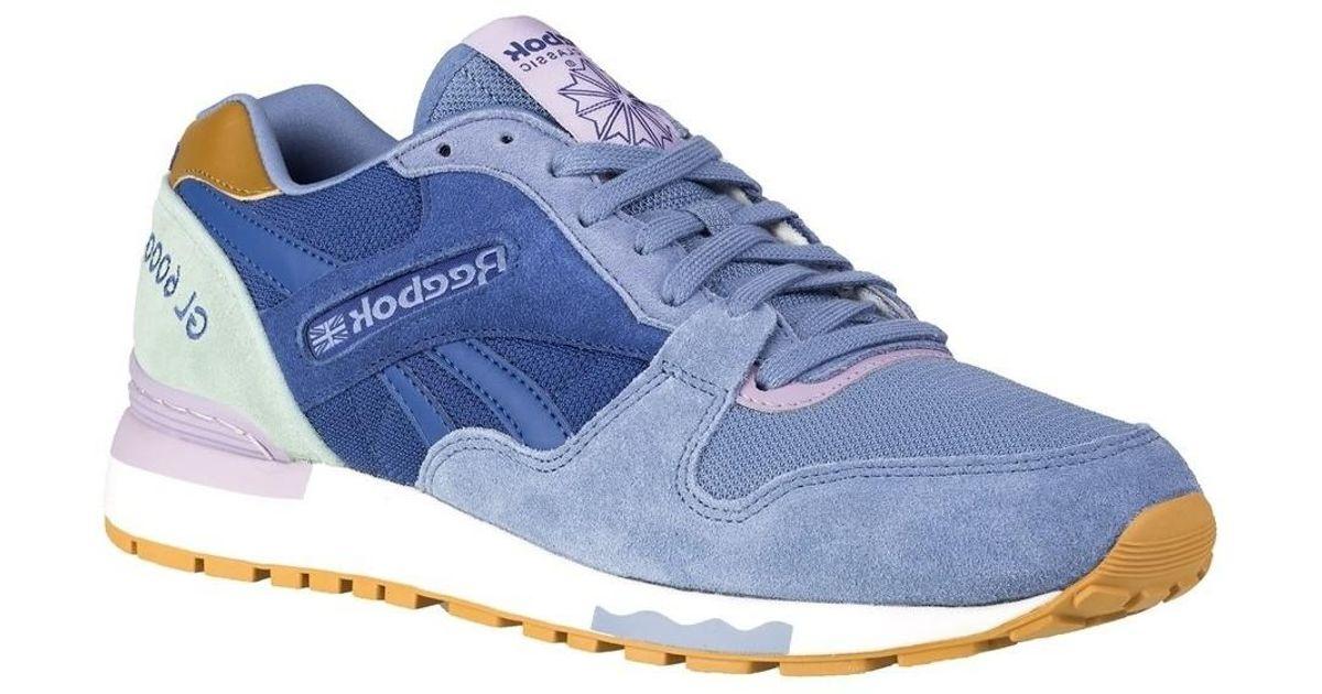 9dd1f45ff8a Reebok Gl 6000 Fleur Women u0027s Shoes (trainers) In Multicolour in Blue -