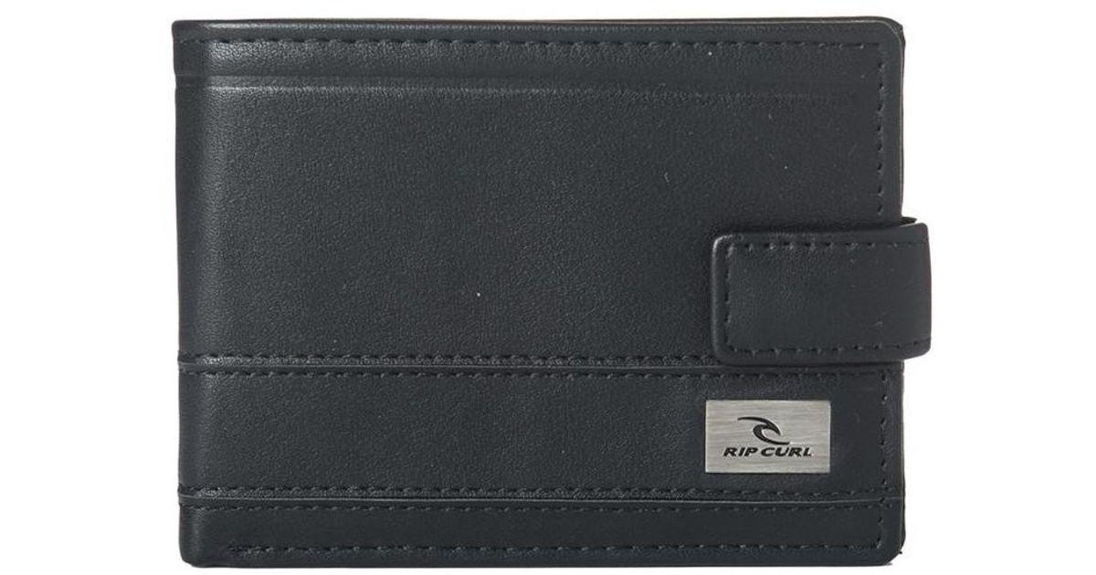 fb17e072dd Rip Curl Reflect Clip Pu All Day Men s Purse Wallet In Black in Black for  Men - Lyst