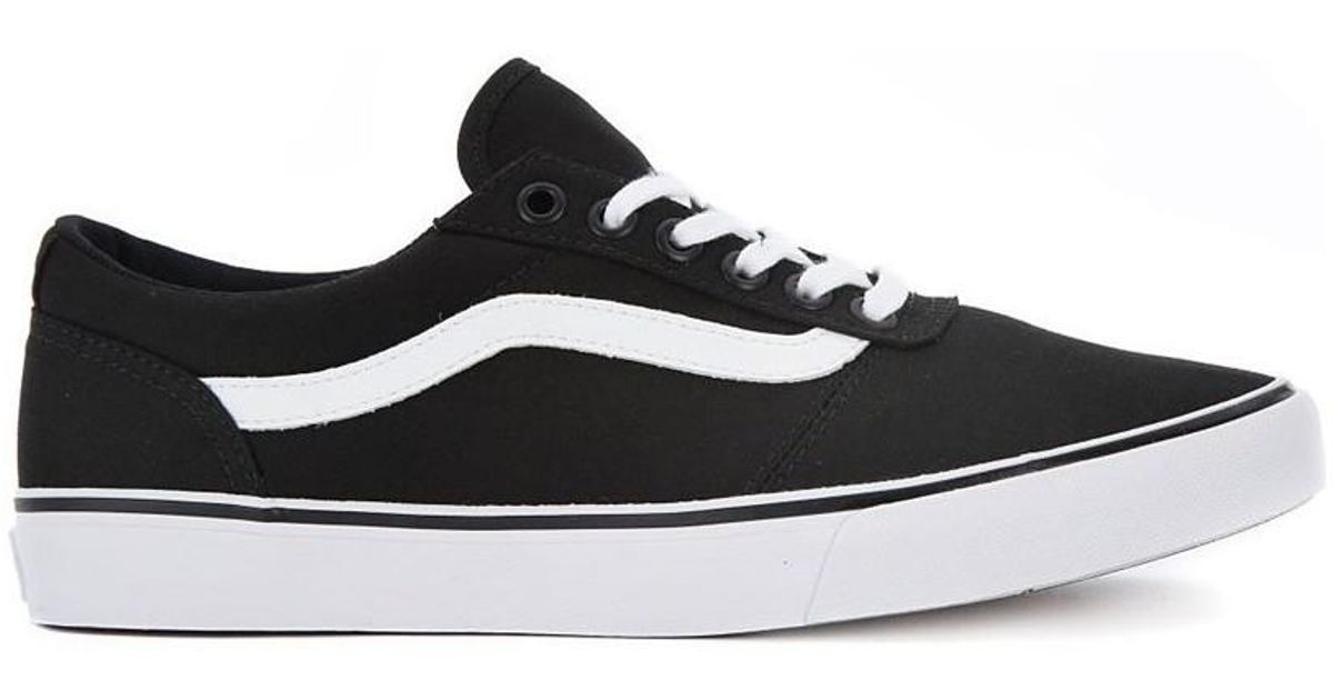 8895ca82a64d Vans W Maddie Canvas Women s Shoes (trainers) In Multicolour in Black - Lyst