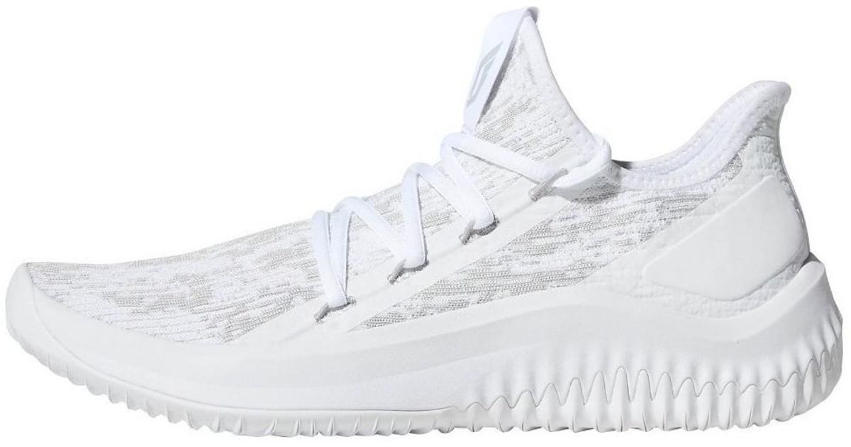 adidas Dame Dolla Men s Shoes (trainers) In White in White for Men - Lyst b227f0693f66
