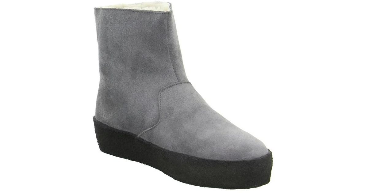 88535129b9dc Clarks Jez Ice Women s Low Ankle Boots In Grey in Gray - Lyst