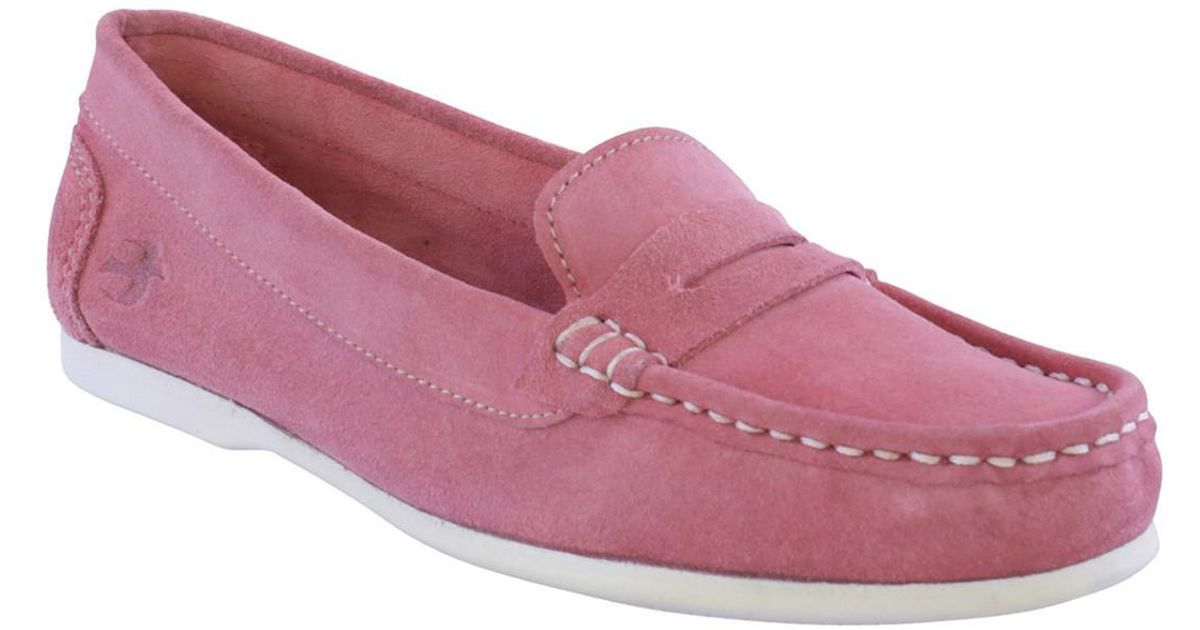 549d92a9a81 Brakeburn Ladies Loafer Shoe Women s Loafers   Casual Shoes In Pink in Pink  - Lyst