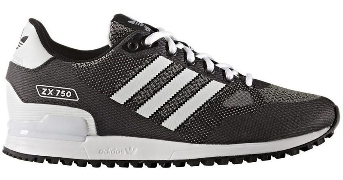 premium selection c2e2a f8bf7 Adidas - Zx 750 Wv Men's Shoes (trainers) In Blue for Men - Lyst