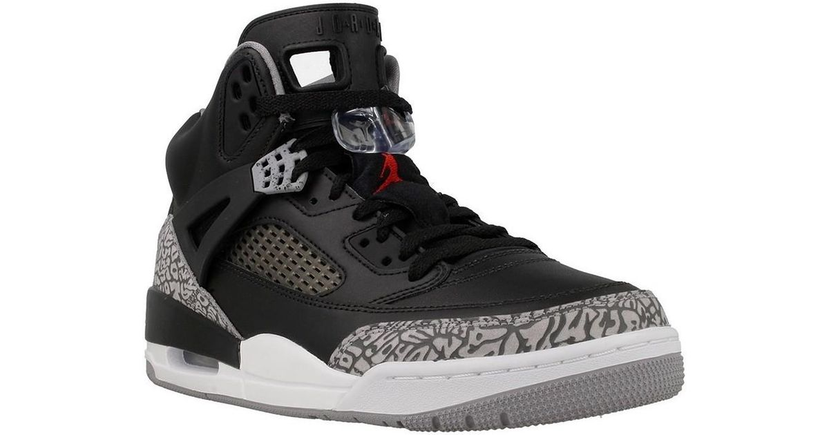 19d581bb26 Nike - Gray Jordan Spizike Men's Shoes (high-top Trainers) In Grey for Men  - Lyst
