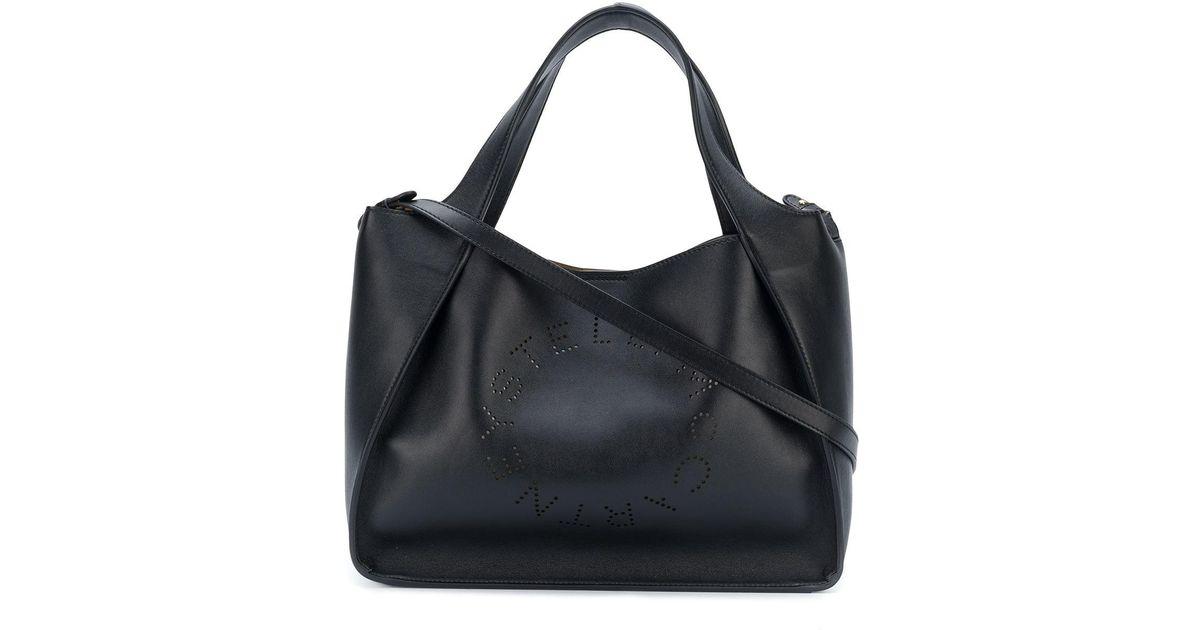5f989453a0fb1 Stella McCartney Alter Nappa Crossbody Bag in Black - Lyst